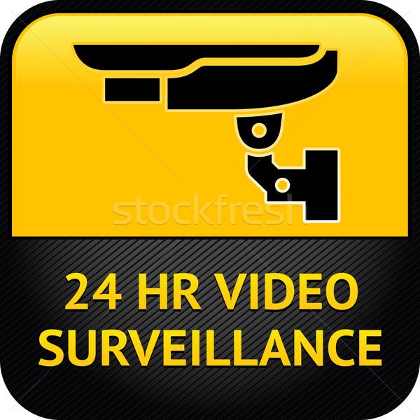 CCTV symbol Stock photo © Ecelop