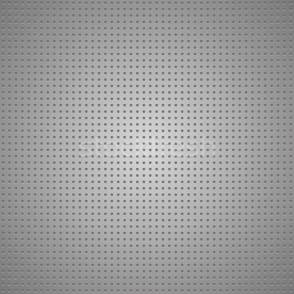 Structured gray metallic perforated sheet Stock photo © Ecelop