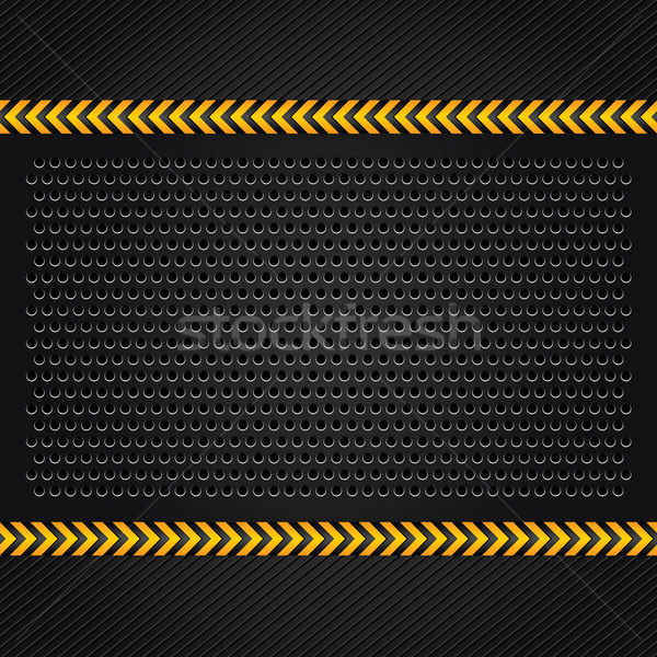 Punched metal surface background Stock photo © Ecelop