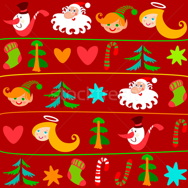 Christmas background Stock photo © Ecelop