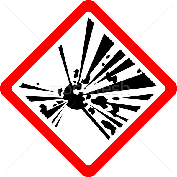 New safety symbol Stock photo © Ecelop