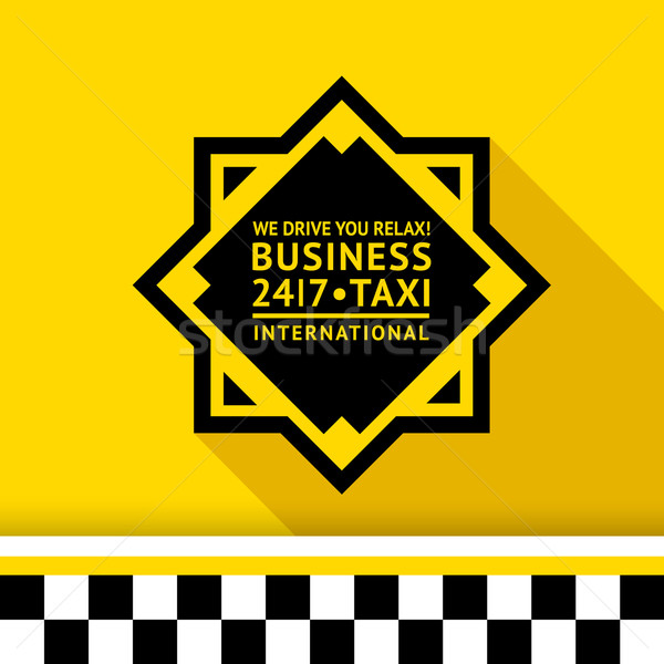 Taxi badge 11 Stock photo © Ecelop