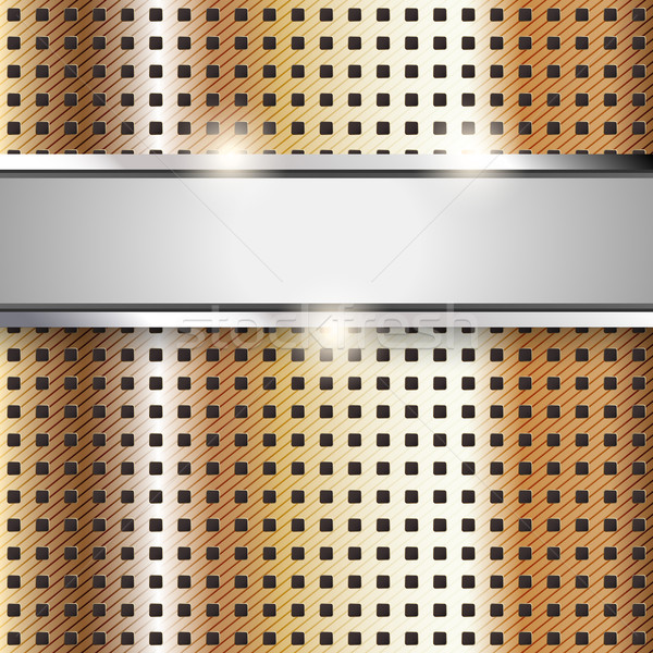 Superficie metallica rame ferro texture abstract tecnologia Foto d'archivio © Ecelop