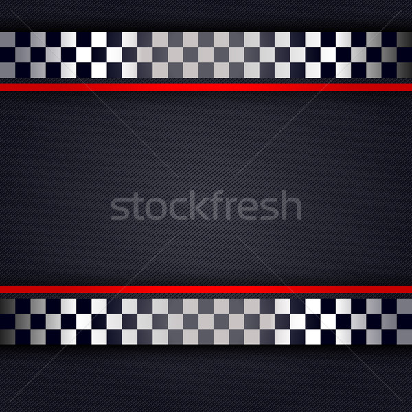 Perforated metallic sheet for race Stock photo © Ecelop