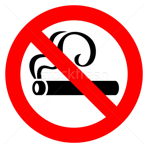 No smoking red sign Stock photo © Ecelop