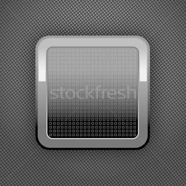 Metal ciemne szary perforacja tekstury Zdjęcia stock © Ecelop
