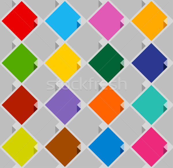 background from blank squares color Stock photo © Ecelop