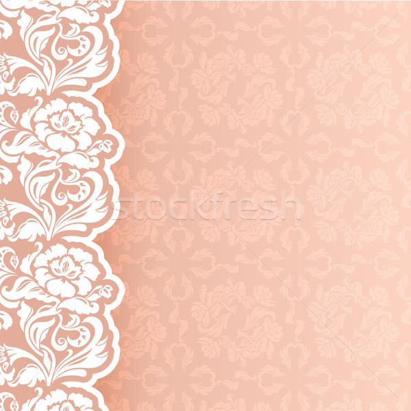 Background with lace Stock photo © Ecelop