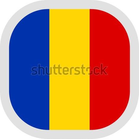 Circular mundo bandera forma blanco viaje Foto stock © Ecelop