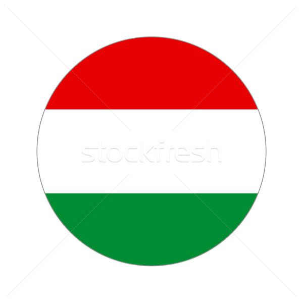 Körkörös világ zászló forma fehér utazás Stock fotó © Ecelop