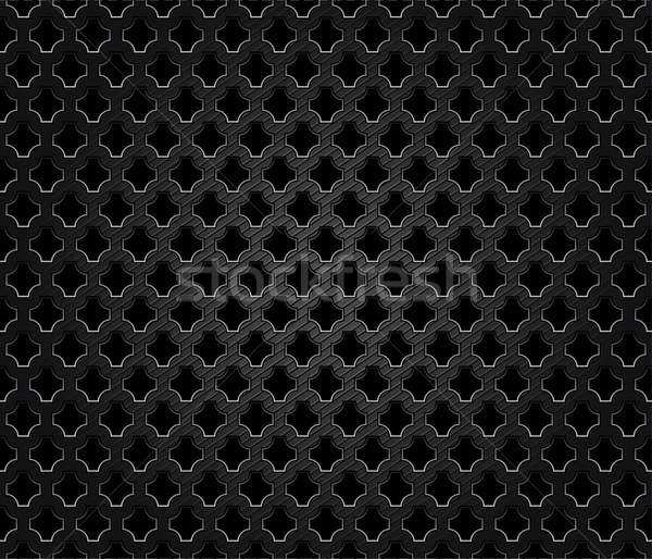 Résumé métal sombre vecteur design industrielle Photo stock © Ecelop
