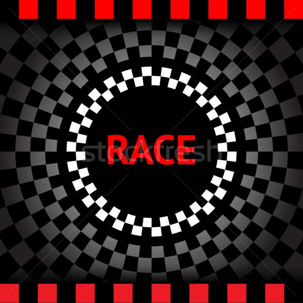 út sport absztrakt keret felirat sakk Stock fotó © Ecelop