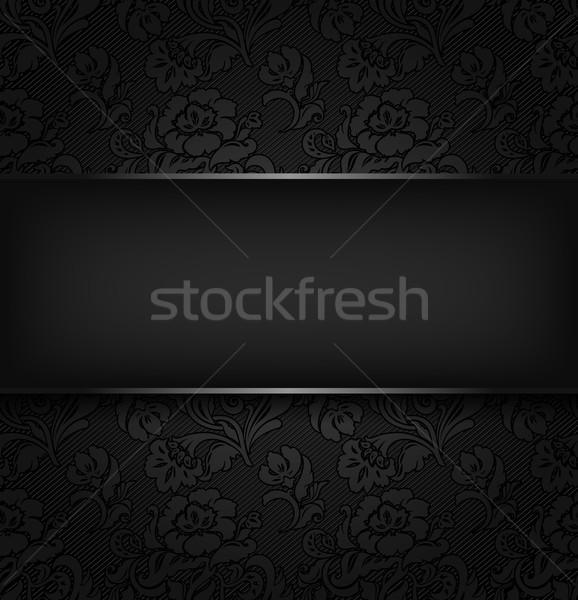 Tessuto texture vettore eps 10 Foto d'archivio © Ecelop