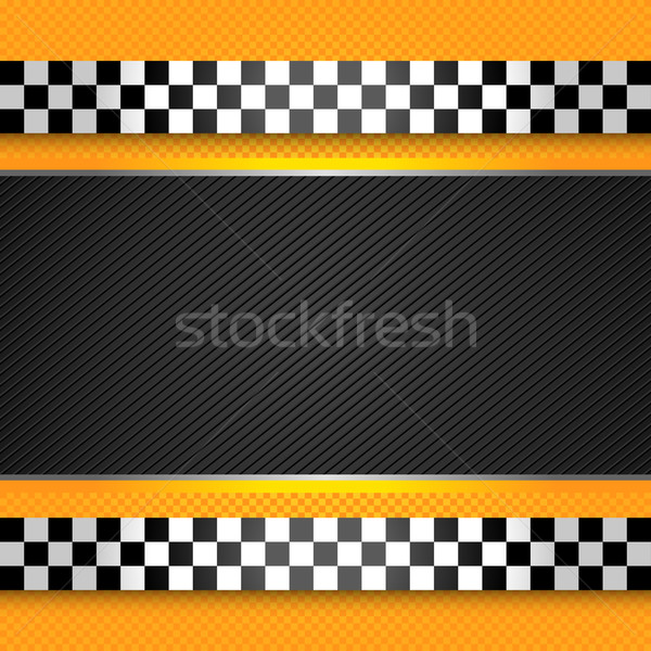 Taxi cab blank template Stock photo © Ecelop