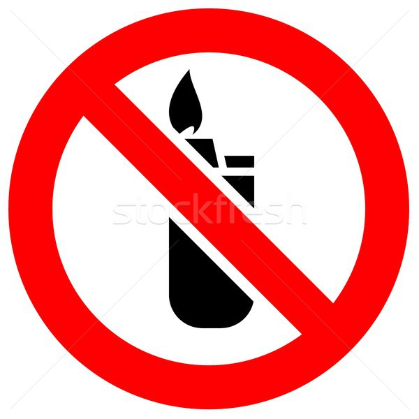 Prohibition red sign Stock photo © Ecelop