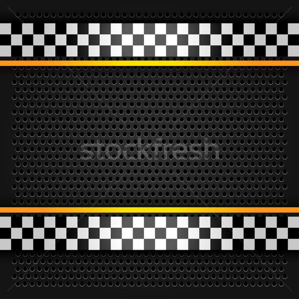 Metallic perforated sheet Stock photo © Ecelop
