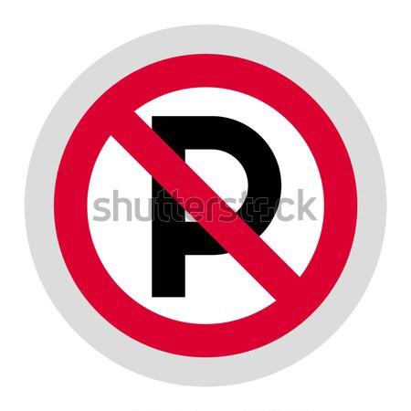 Transportu drogowego czarny ikona odizolowany biały Zdjęcia stock © Ecelop