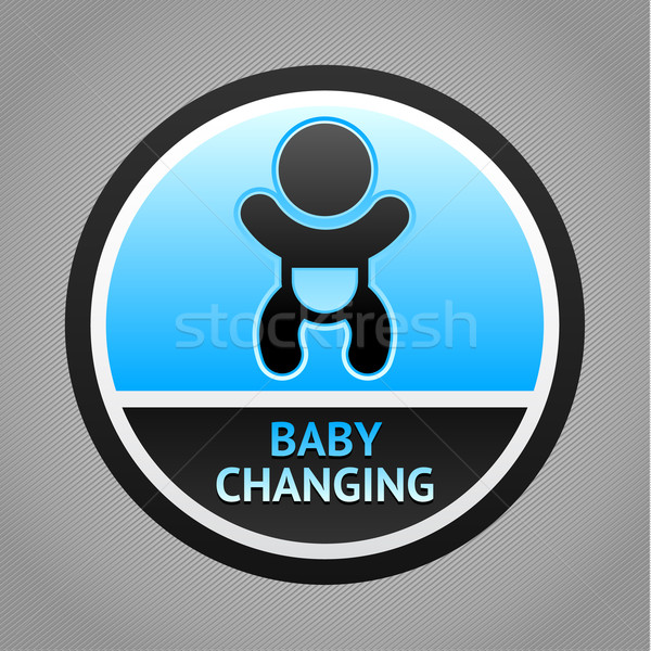 Symbol baby changing Stock photo © Ecelop