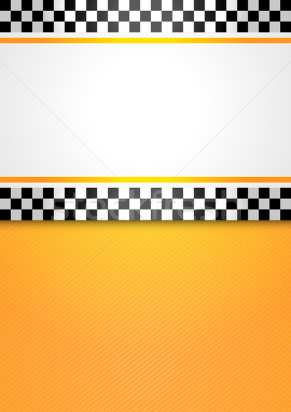 Taxi cab blank background Stock photo © Ecelop