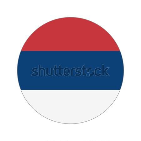 Circular world Flag Stock photo © Ecelop