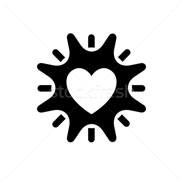 Romantic Love symbol Stock photo © Ecelop