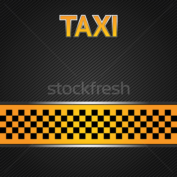 Taxi cab background Stock photo © Ecelop