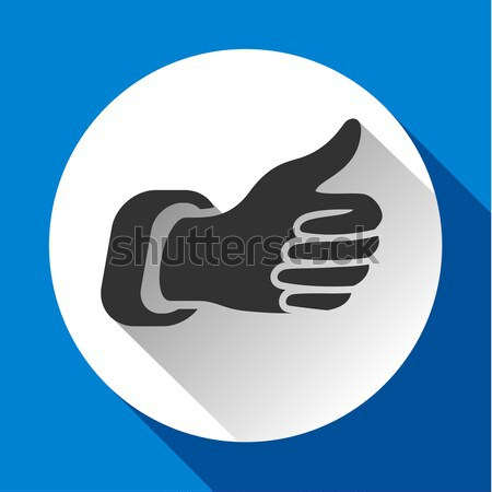 thumbs up icon Stock photo © Ecelop
