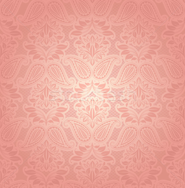 Lace pink, floral background Stock photo © Ecelop