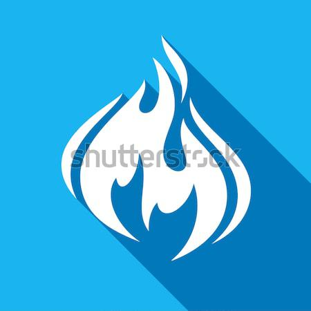 огня костер пламени Бублики форма цвета Сток-фото © Ecelop