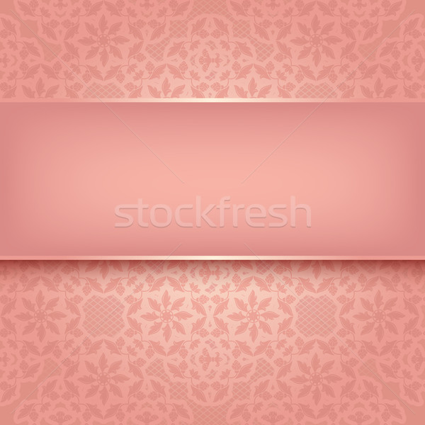 Decorative pattern - Vector illustration 10eps Stock photo © Ecelop