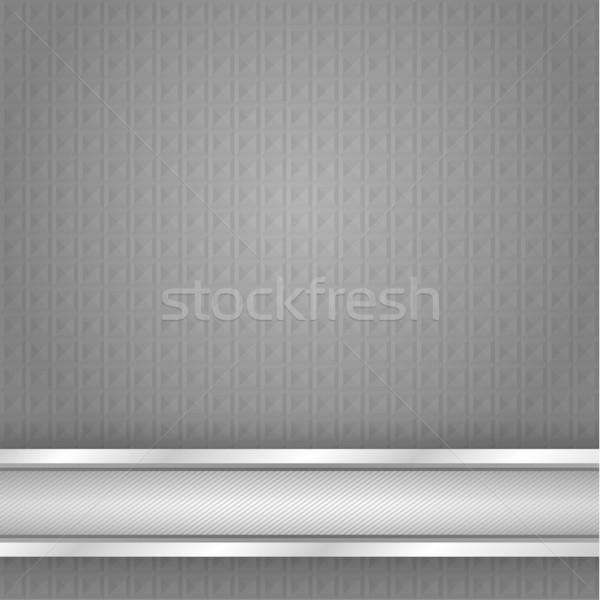 Superficie metallica ferro texture vettore abstract Foto d'archivio © Ecelop