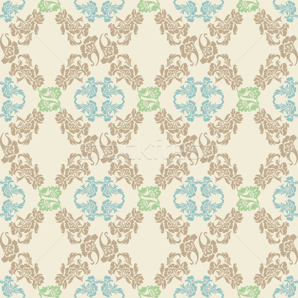 Vector. Seamless floral pattern, background Stock photo © Ecelop