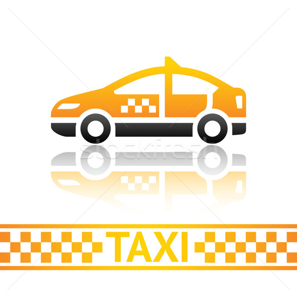 Taxi cab icon Stock photo © Ecelop