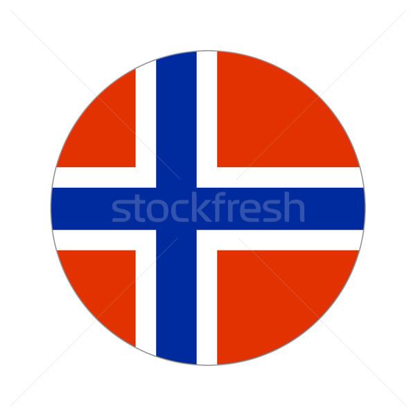 Мир флаг форма белый путешествия Сток-фото © Ecelop