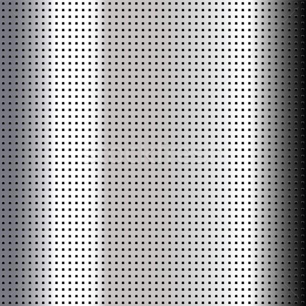 メタリック クロム シート ベクトル 抽象的な ストックフォト © Ecelop
