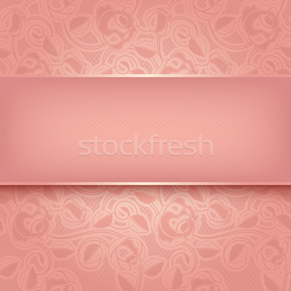 Decorative template Stock photo © Ecelop