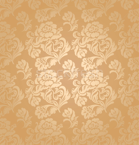 Seamless pattern, ornament floral, decorative background. Vector.  Stock photo © Ecelop