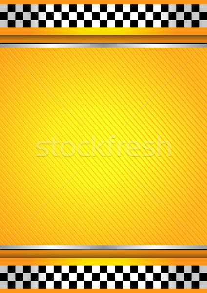 Racing background, taxi cab template Stock photo © Ecelop