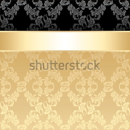 Background black ornamental fabric texture Stock photo © Ecelop