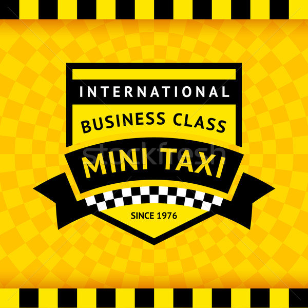 такси символ бизнеса дороги город Сток-фото © Ecelop