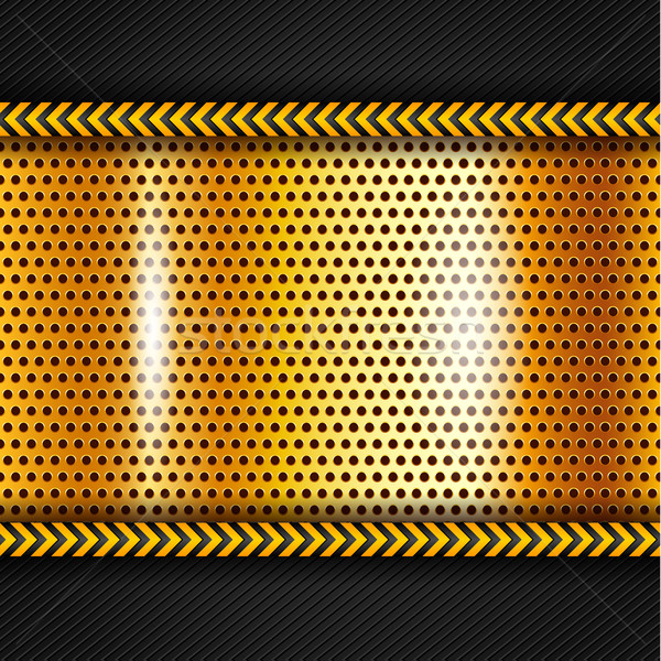 Golden metallic surface Stock photo © Ecelop
