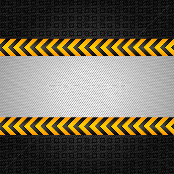 Stock photo: Abstract background template, under construction