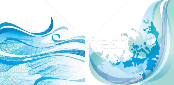 Water background 10 EPS Stock photo © Ecelop