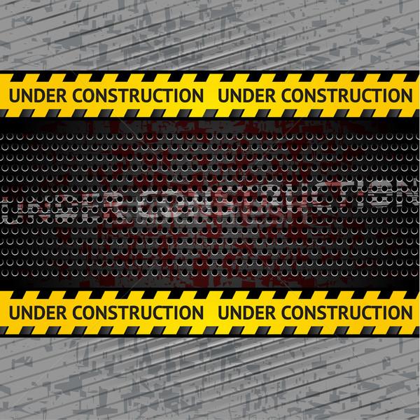 Сток-фото: строительство · шаблон · вектора · промышленных · железной · аудио