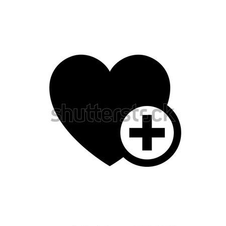 Romantic Love symbol Stock photo © Ecelop