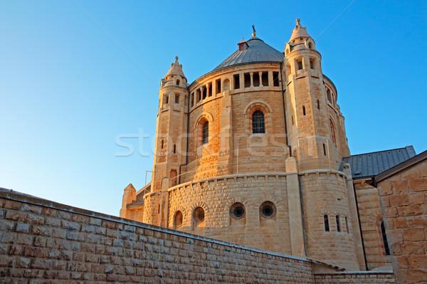 Manastır Kudüs görmek tarihsel İsrail Bina Stok fotoğraf © EcoPic