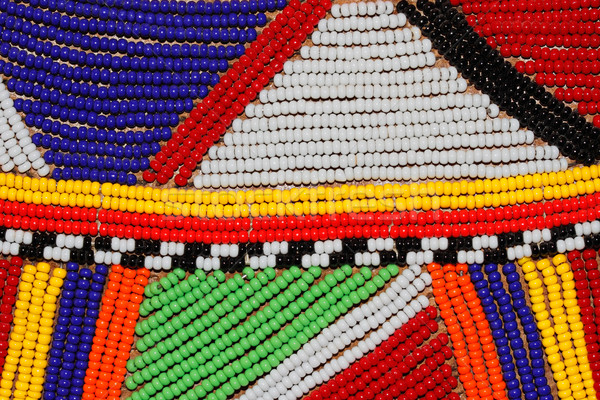African beads Stock photo © EcoPic