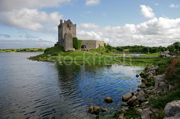城 アイルランド 表示 水 夏 公園 ストックフォト © EcoPic