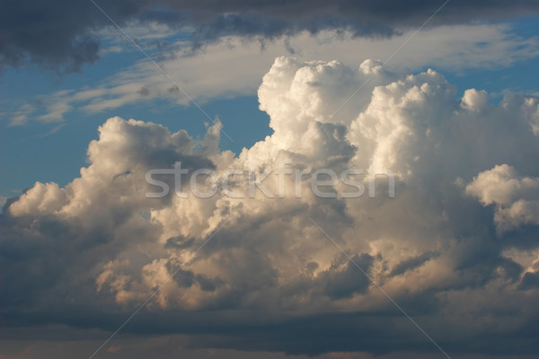 Cumulonimbus clouds Stock photo © EcoPic