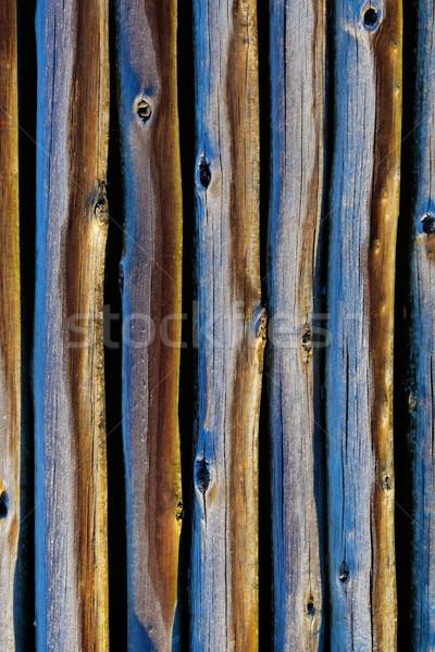 木製 ポール 背景 ラフ デザイン パターン ストックフォト © EcoPic